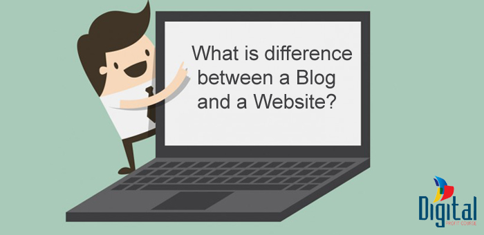 Blog and website differences